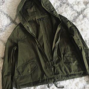 Brandy Melville Jackets & Coats - Brandy Melville Army Jacket